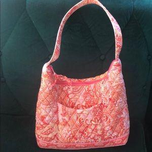 Vera Bradley pink/orange shoulder bag